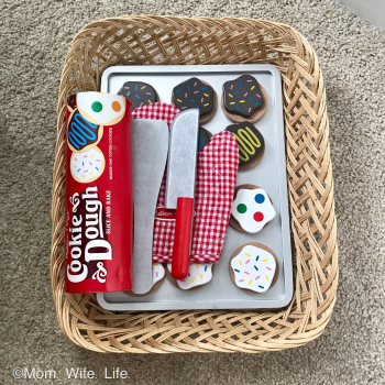 wooden toy cookie set from melissa and doug